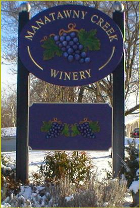 WELCOME TO MANATAWNY CREEK WINERY